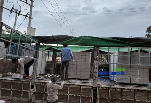 Xây dựng xanh bằng gạch bê tông nhẹ tại Hải Phòng