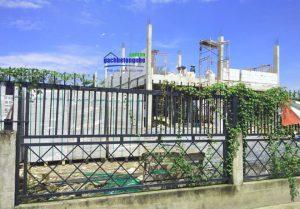 Hình ảnh công trình gạch xây AAC