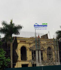 Sửa nhà cũ bằng gạch siêu nhẹ AAC