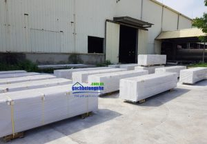 sản phẩm tấm panel bê tông khí chưng áp AAC