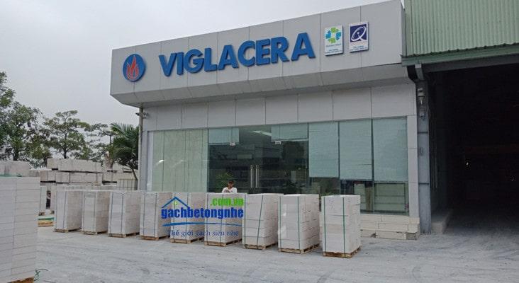 Nhà máy gạch AAC Viglacera