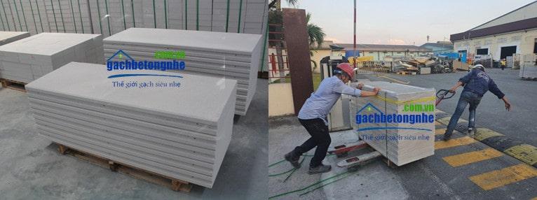 Tấm panel ALC bê tông nhẹ tại Việt Nam