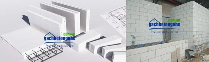 Báo giá tấm panel ALC Viglacera | tấm panel bê tông nhẹ ALC 2021