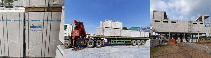 Gạch siêu nhẹ Bắc Ninh | Nhà máy gạch bê tông nhẹ ở Bắc Ninh