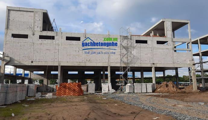 Công trình xây bằng gạch aac Bắc Ninh