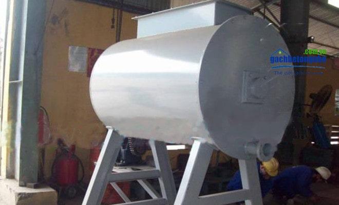 Máy trộn bê tông bọt khí không chưng áp sản xuất thủ công