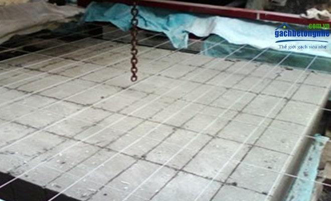 Máy cắt gạch bê tông bọt thường