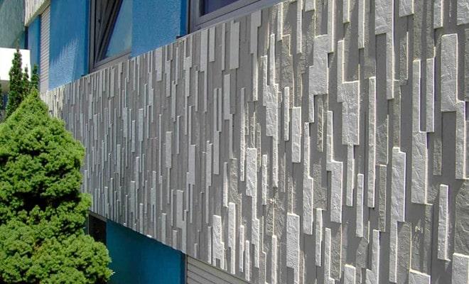 Tấm 3D bê tông trang trí