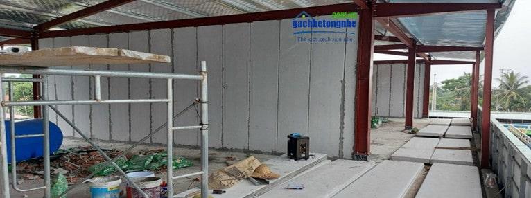 Tấm panel bê tông nhẹ tại Hải Phòng và thành phố Hà Nội