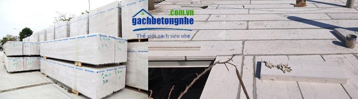Tấm sàn bê tông nhẹ lắp ghép ALC Viglacera | Báo giá mới nhất 2021