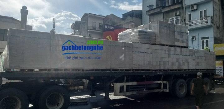 Gạch bê tông nhẹ Đà Nẵng giá rẻ uy tín giao hàng nhanh
