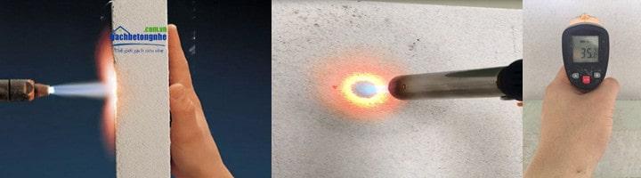 Gạch siêu nhẹ chống cháy | Tường gạch chống cháy bê tông khí AAC