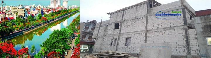 Mua gạch siêu nhẹ Hải Phòng | Gạch bê tông nhẹ AAC  ở Hải Phòng