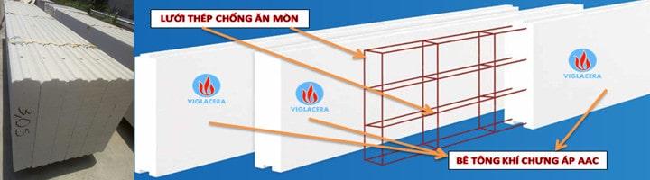 Tấm panel 3D Viglacera | Báo giá tấm bê tông khí 3D năm 2021