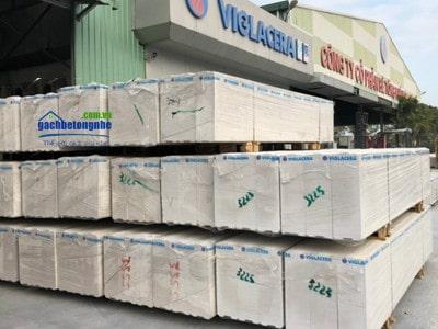 Tấm panel bê tông nhẹ ALC dày 150mm tại Lào Cai
