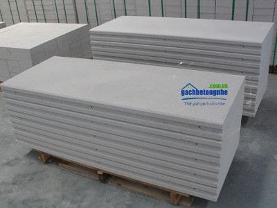 Tấm panel sản xuất tại nhà máy có chiều dài 1200mm dày 75mm tại Đà Nẵng và Huế