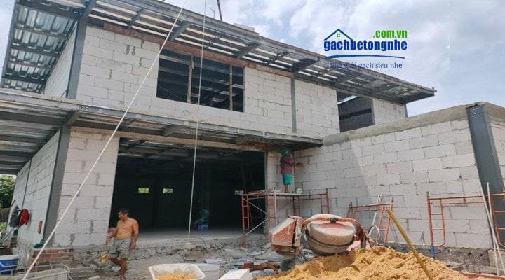 Xây nhà bằng tấm panel 3D tại TP HCM do Sako Việt Nam thi công