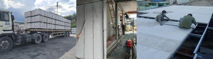 Địa chỉ mua tấm panel Hà Nội | tấm bê tông nhẹ đúc sẵn Viglacera Hà Nội