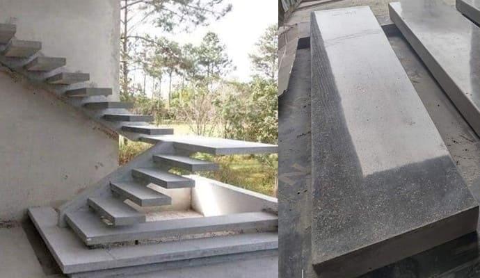 Cầu thang bê tông dẻo HTC