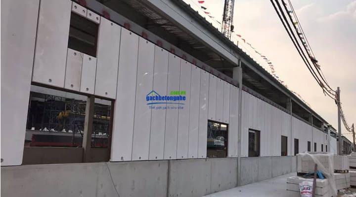 Công trình xây nhà lắp ghép ở Thanh Hóa bằng tấm panel bê tông nhẹ