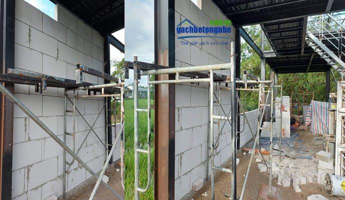 lắp tấm panel cách nhiệt tại công trình xây dựng ở Hà Nội
