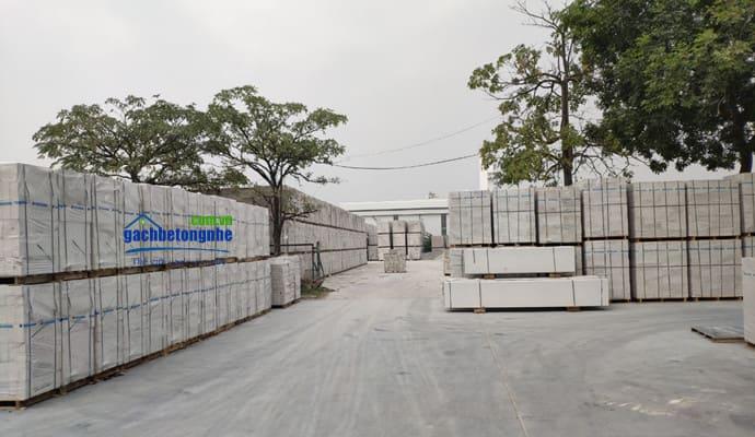 Nhà máy gạch Hà Nam chuyên sản xuất gạch siêu nhẹ AAC