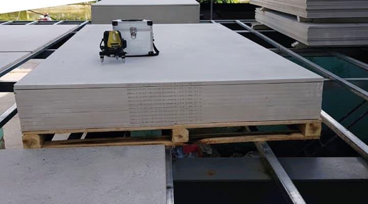 Làm sàn nhà bằng tấm cemboard lắp ghép