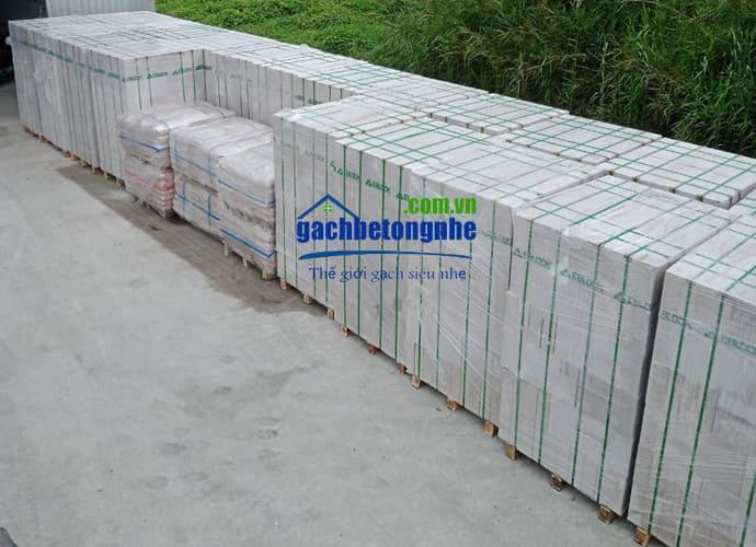 Sản phẩm gạch nhẹ AAC EBlock tại TPHCM