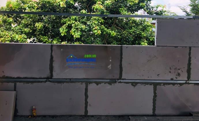 Tường bằng tấm bê tông đúc sẵn Viglacera ở Nghệ An