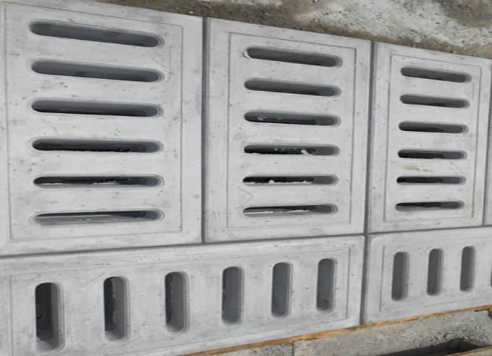 Tấm đan hố ga lắp đặt lên hố ga, rãnh thoát nước vỉa hè