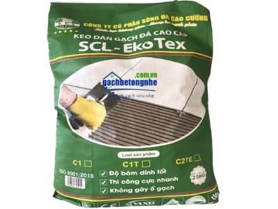Keo dán gạch đá gốm sứ cao cấp chính hãng SCL - Ekotex