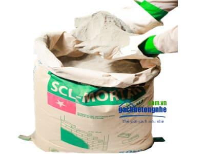 Vữa cán nền | Vữa trộn sẵn chất lượng cao SCL - Motar