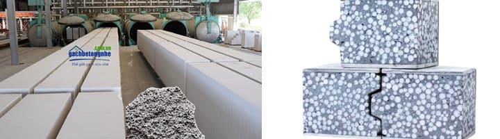 Bê tông xốp là gì? Các loại Gạch và Tấm bê tông xây nhà dạng bọt xốp