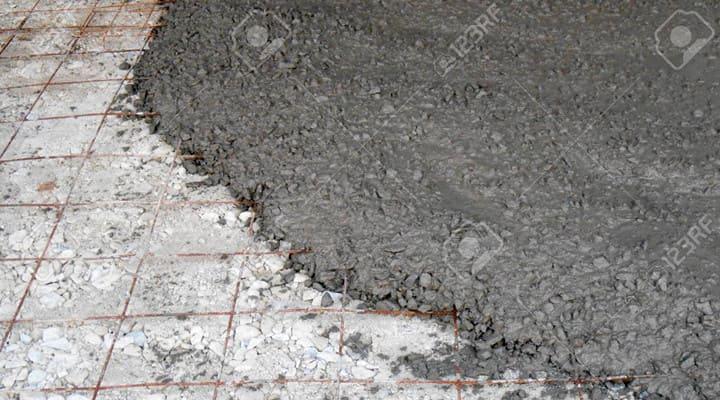 Đổ bê tông sàn