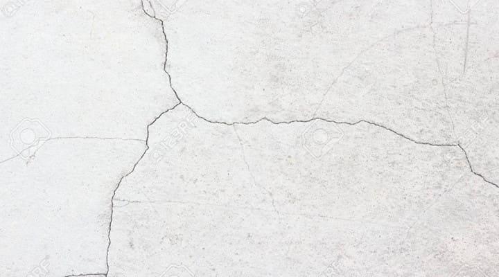 Hình ảnh bề mặt sàn nhà bê tông bị nứt