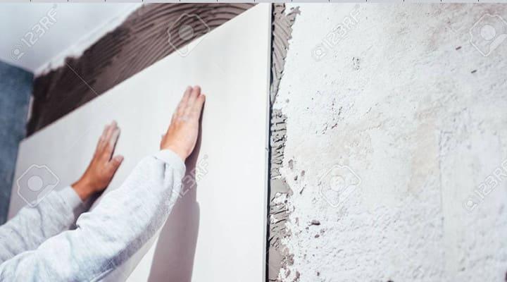 Keo dán gạch ốp tường