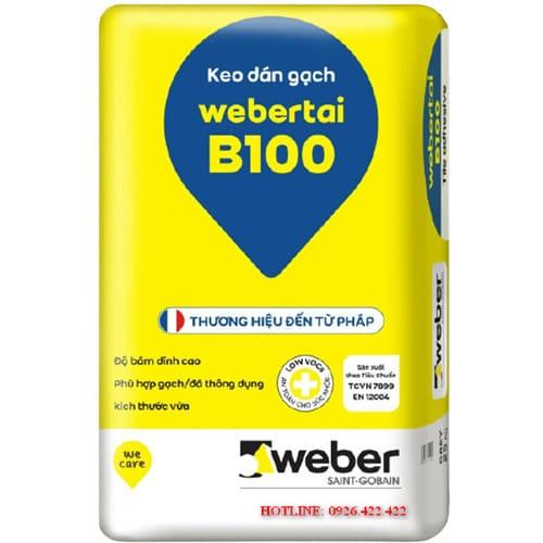 Keo weber tai B100