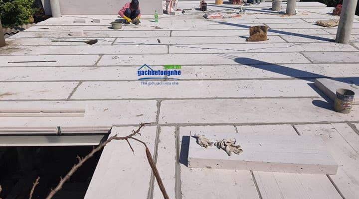 Sàn lắp ghép bằng bê tông khí chưng áp ALC