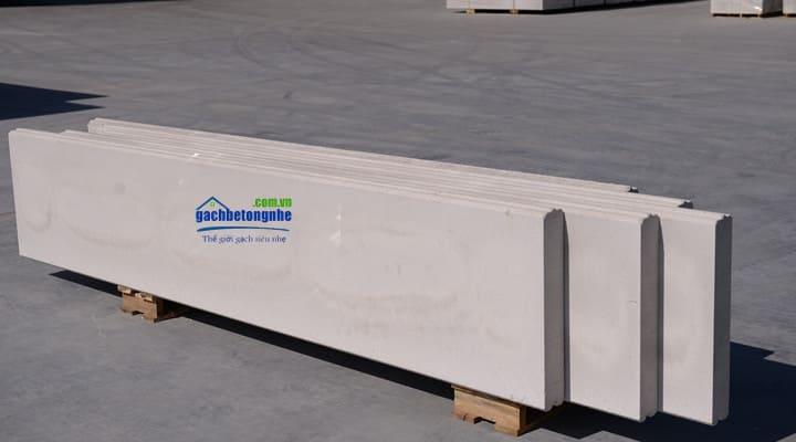 Sàn lắp ghép bằng tấm panel ALC