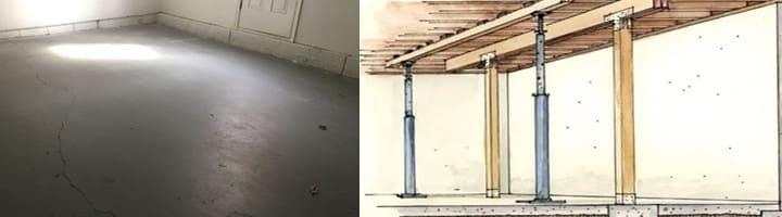 Nguyên nhân và cách xử lý sàn nhà bê tông bị võng như thế nào?