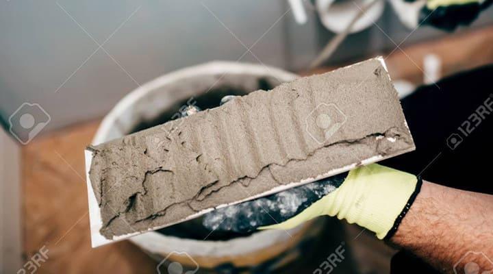 Sử dụng keo dán gạch Sika