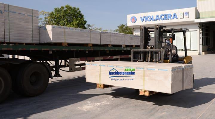 Tấm sàn bê tông nhẹ lắp ghép của Viglacera