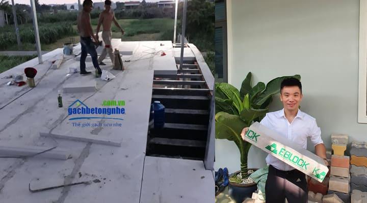 Sàn bê tông nhẹ lắp ghép tại TP HCM Sản phẩm chính hãng bê tông khí Eblock Sako Việt Nam