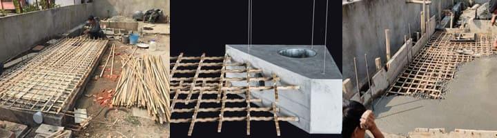 Bê tông cốt tre là gì? Ứng dụng của Tre và Bê Tông trong xây dựng