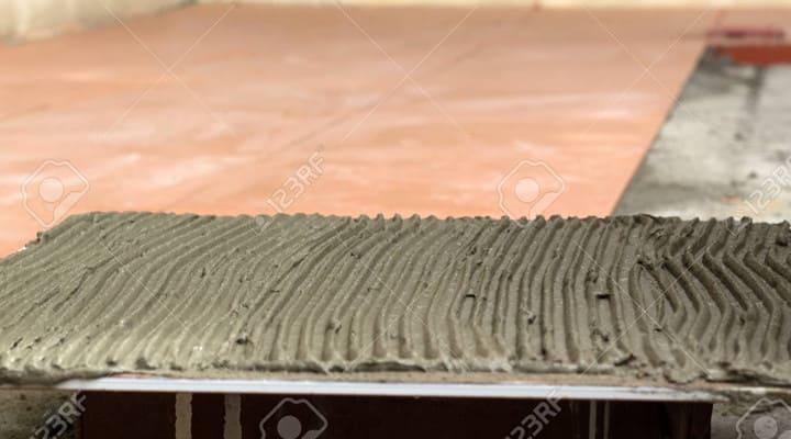 Thi công lát nền gạch bằng keo Sika