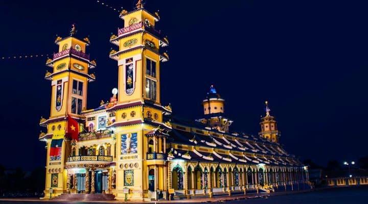 Hình ảnh công trình Tòa thánh Tây Ninh bê tông cốt tre Cần Thơ