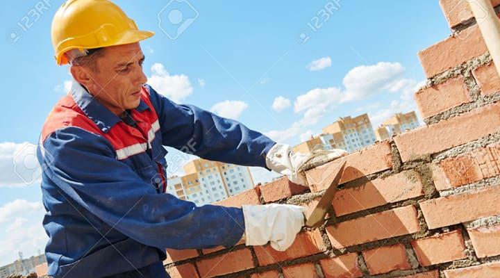 Thi công xây tường gạch đỏ bằng vữa khô trộn sẵn M75