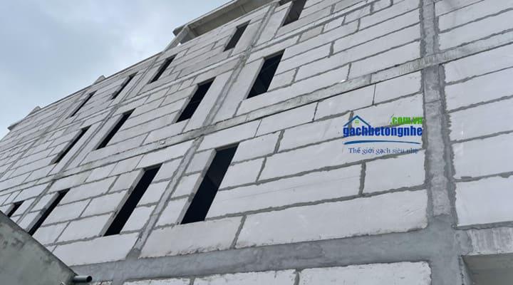 Xây nhà bằng tấm tường bê tông nhẹ tại TP HCM