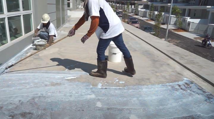 Xử lý sàn bê tông bị thấm mới đổ xong