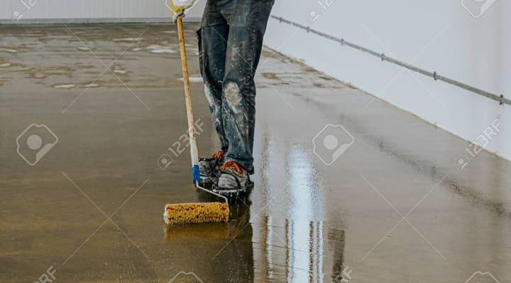 Sơn Epoxy chống thấm sàn bê tông